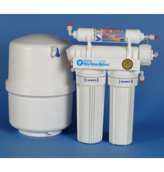 Vertex Pure Water Machine PT-4.0_P Under Sink R.O. +Booster Pump